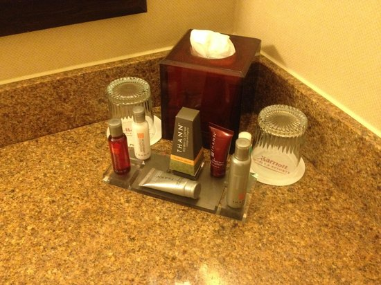 Houston Marriott West Loop by the Galleria : Complimentary