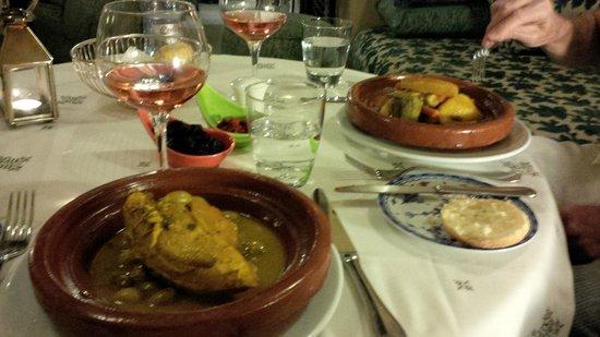 SENTIDO Kenzi Menara Palace: Dinner in the Moroccan restaurant