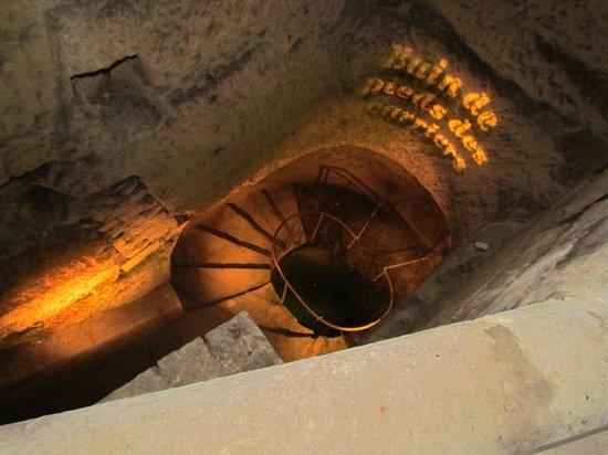 Les Catacombes : bain de pieds