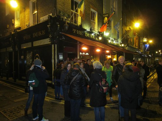 Dublin Literary Pub Crawl: The Duke
