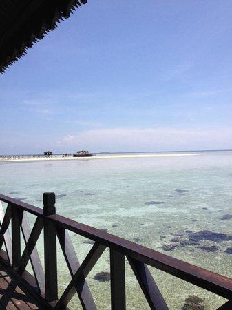 Sipadan Kapalai Dive Resort: Room 2 view