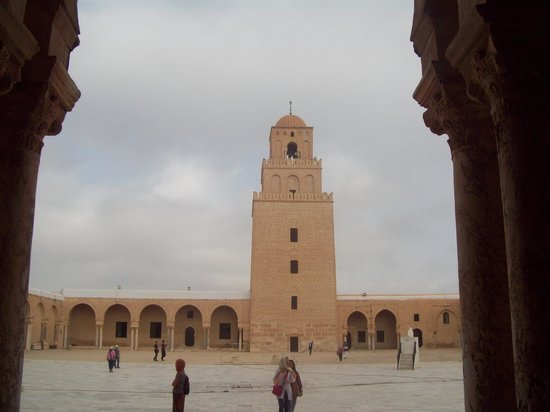 Grande Mosquée de Kairouan : Minaret of the Great Mosque