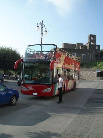 City Sightseeing Sorrento - Day Tours: Bus at Piazzetta Santa Croce (Termini)