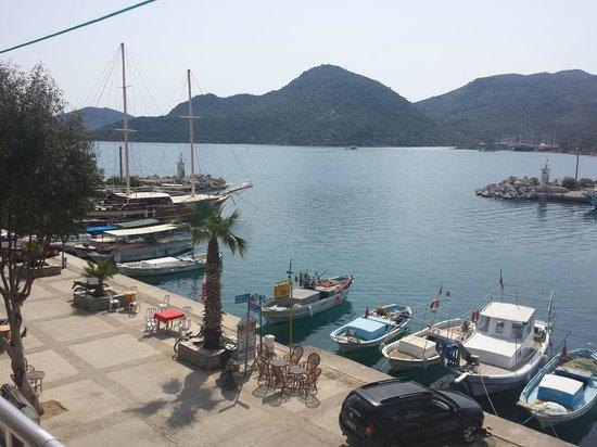 Osman's Place Gordon Restaurant: view from balcony