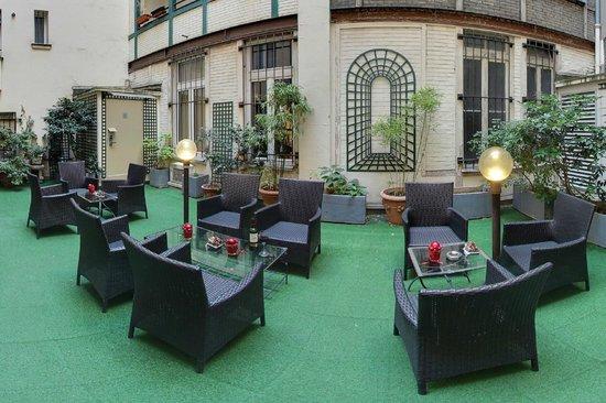 Hotel Villa Margaux Opera Montmartre: jardin
