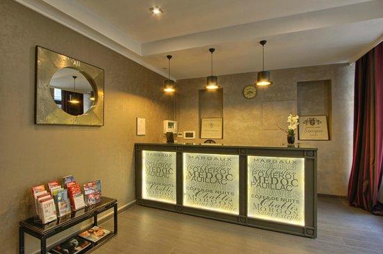 Hotel Villa Margaux Opera Montmartre: Reception