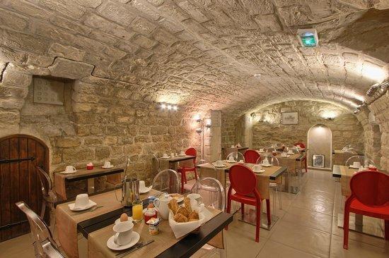 Hotel Villa Margaux Opera Montmartre : salle de petit dejeuner
