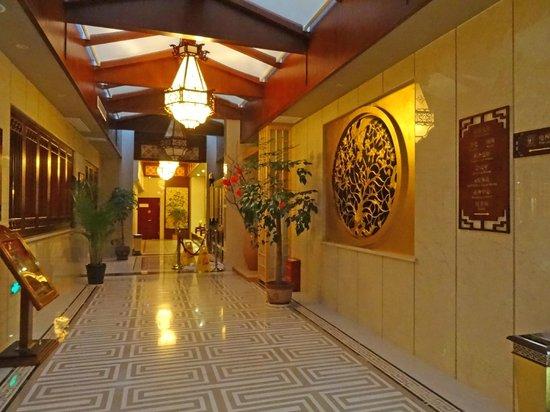 Jiuhuashan Shangketang Hotel: Lobby deco