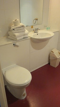 Britannia Roundhouse Hotel: Bathroom was very clean with super shower