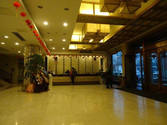 Jiuhuashan Shangketang Hotel: Lobby reception