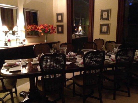 Bishop's Court Estate Boutique Hotel: Dining Room