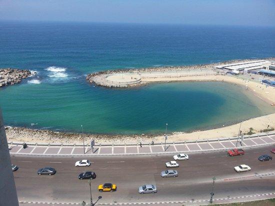 Romance Alexandria Corniche Hotel: View from the room