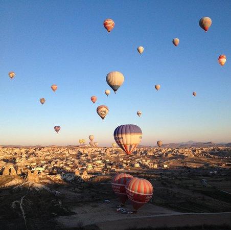 Cappadocia Voyager Balloons: Vôo de balão na Cappadocia