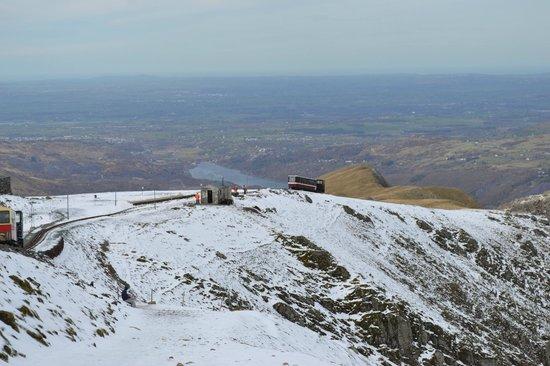 Snowdon: Turning back from Clogwyn