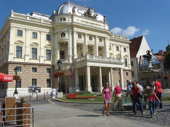 Staatsoper: Опера в Братиславе
