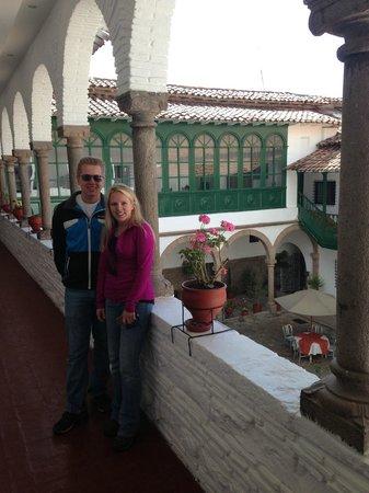 Hotel Garcilaso: Great Hotel booked through Trekperu