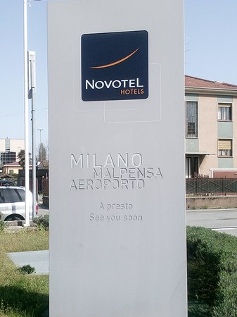 Novotel Milano Malpensa Airport : panneau