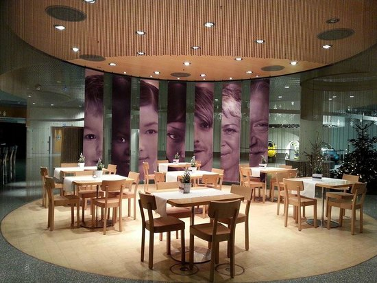 Restaurant im Mercedes Benz Museum: для молодежи