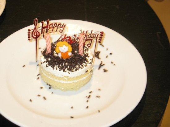 Apsara Beachfront Resort And Villa Husbands Birthday Cake They Made Him