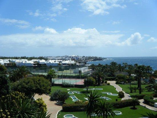 TUI SENSIMAR Natura Palace & SPA: Looking towards Playa Blanca