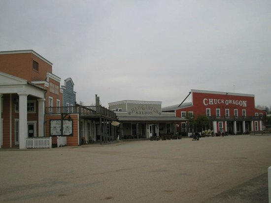 Disney's Hotel Cheyenne: panorama dell'hotel