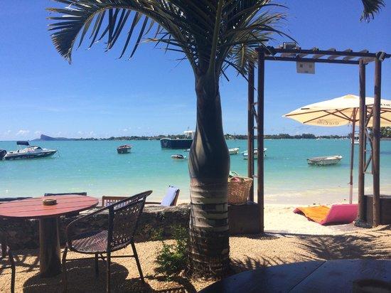 Ein tisch am strand obr zek za zen le gout du large mauricius trip - Le gout du jour moulins ...