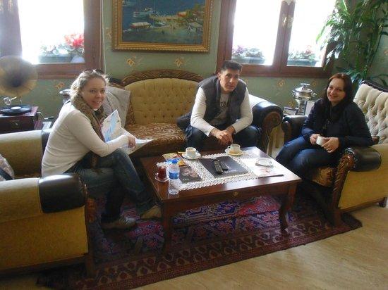 Artefes Hotel Istanbul : холл, зона ожидания