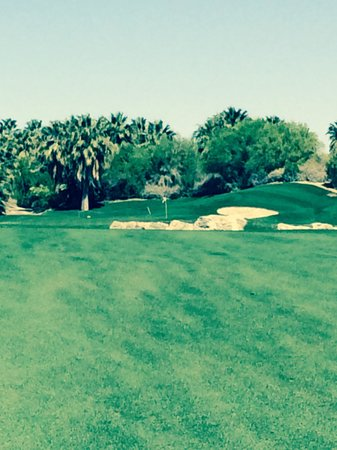 Desert Willow Golf Resort : Great hole