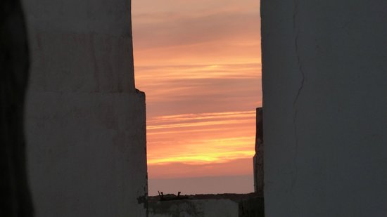 Riad Baladin: Sunset from the terrace