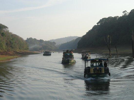 KTDC Periyar House: boat ride