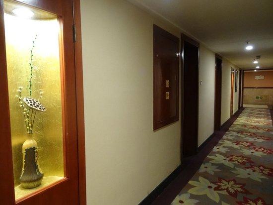 Putuoshan Hotel : 房區走廊
