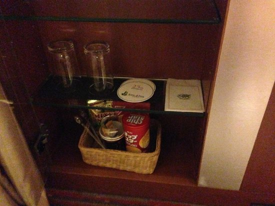 Royal Park Hotel: グラス類