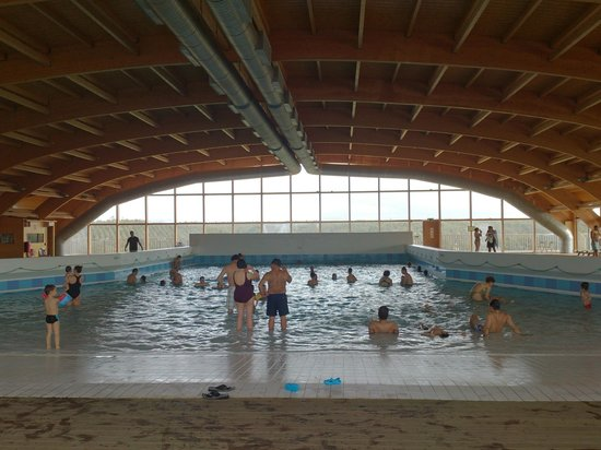 Zmar Eco Experience: Piscina interior/ondas
