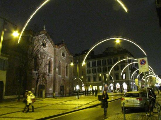 Chiesa di Santa Maria Incoronata: le illuminazioni di Natale