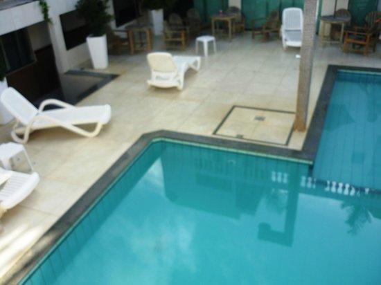 Ancoradouro Hotel: Vista da piscina.