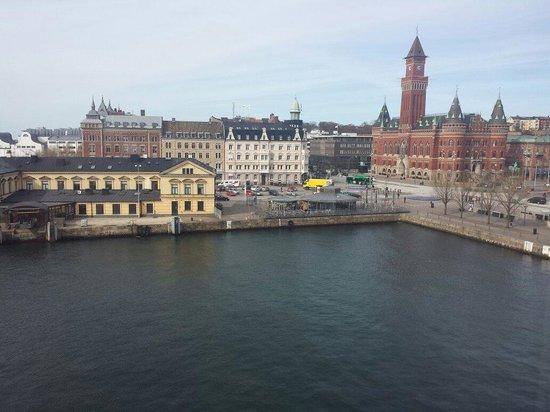 Elite Hotel Marina Plaza : Utsikten från vårat dubbelrum deluxe med havsutsikt :)