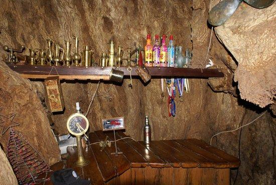 Magoebaskloof Hotel: Inside the big Boabab tree