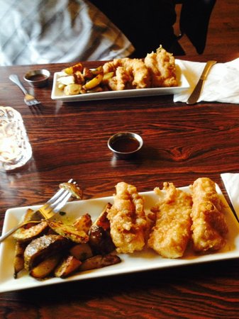 Icelandic Fish & Chips : Fish and Chips