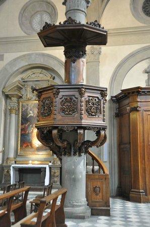 """Duomo di Cortona: Il pulpito del """"Mezzanotte"""""""