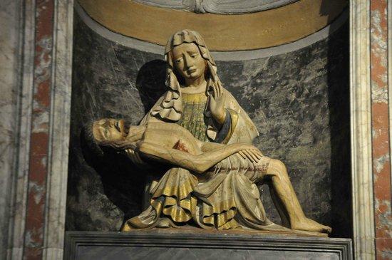 Duomo di Cortona: La Madonna del pianto