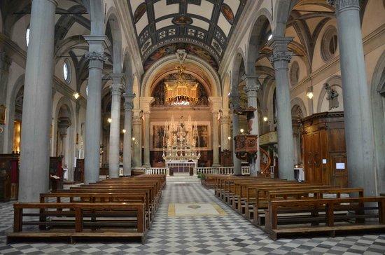 Duomo di Cortona: Navata centrale