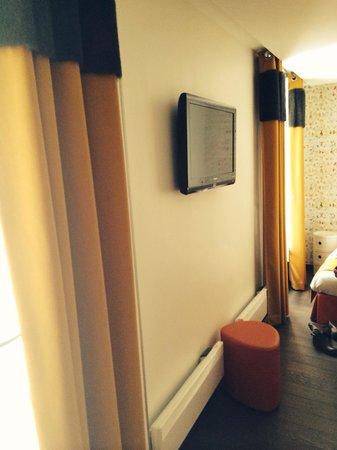 Moderne St-Germain Hotel: Triple room