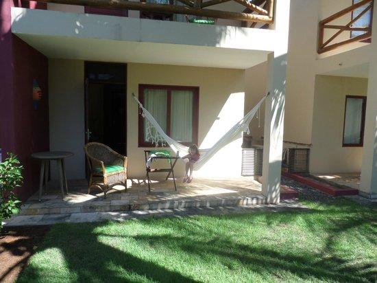 Porto de Galinhas Praia Hotel: varanda do meu quarto