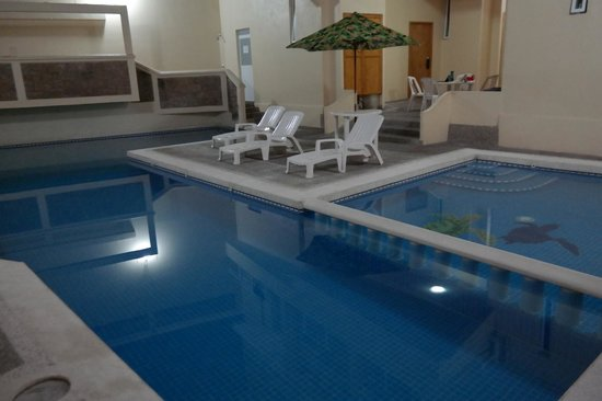 Hotel Zihua Express: Swimming pool