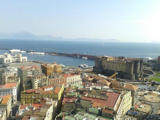 NH Napoli Ambassador : Vista golfo superior