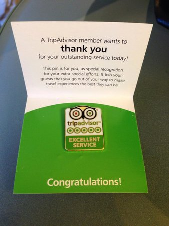 Sheraton Dallas Hotel: Congratulations Ronald - and thank you!