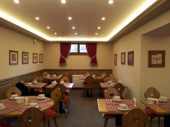 Hotel l'Abbaye d'Alspach: sala per la colazione