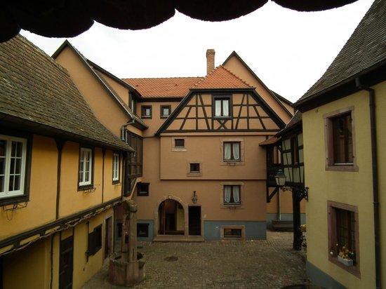 Hôtel l'Abbaye d'Alspach : vista interna
