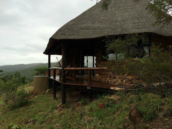 Leopard Mountain Safari Lodge: Zimmer nr. 2 (so sehen alle aus)