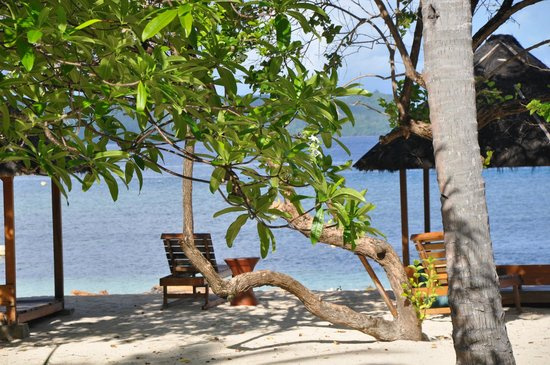 Gangga Island Resort & Spa: Bungalow Umgebung